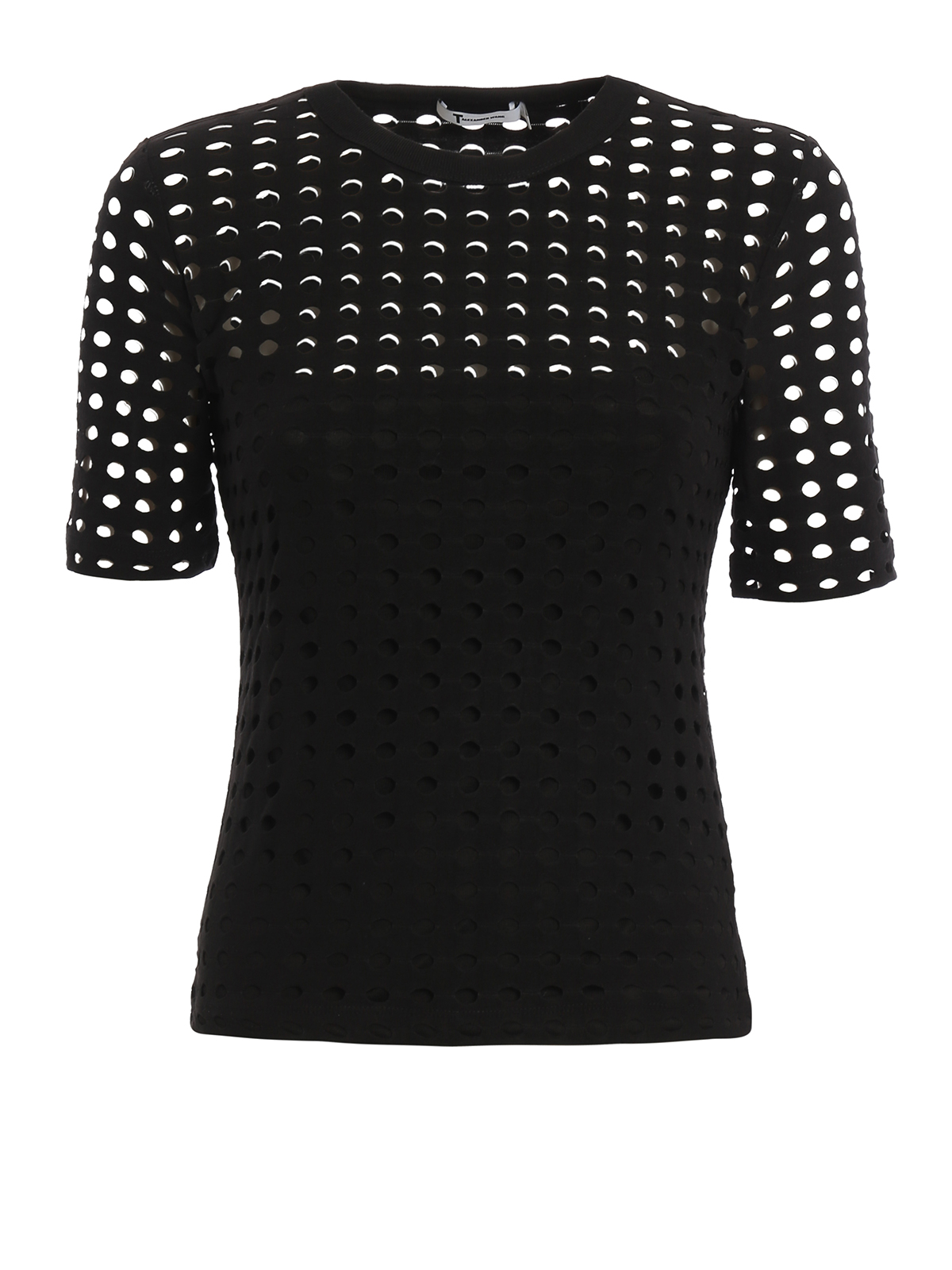 Cut Out Jersey T Shirt By T By Alexander Wang T Shirts