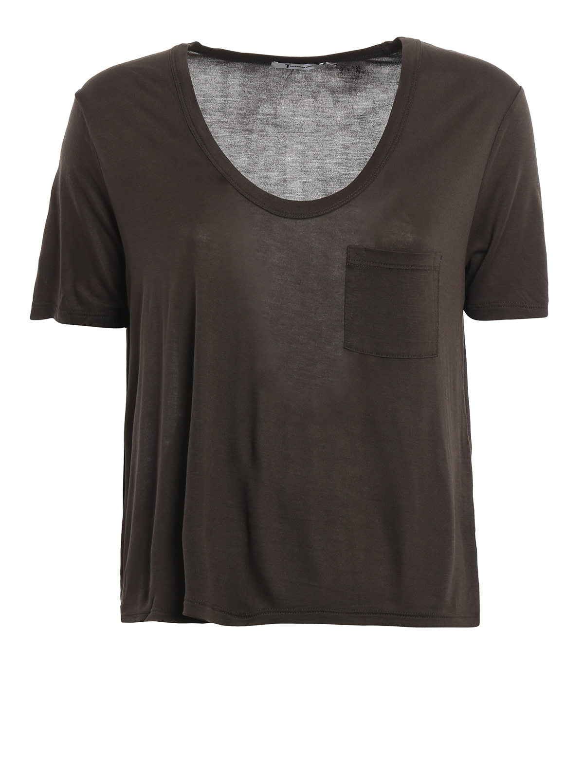 Lightweight Jersey T Shirt By T By Alexander Wang T