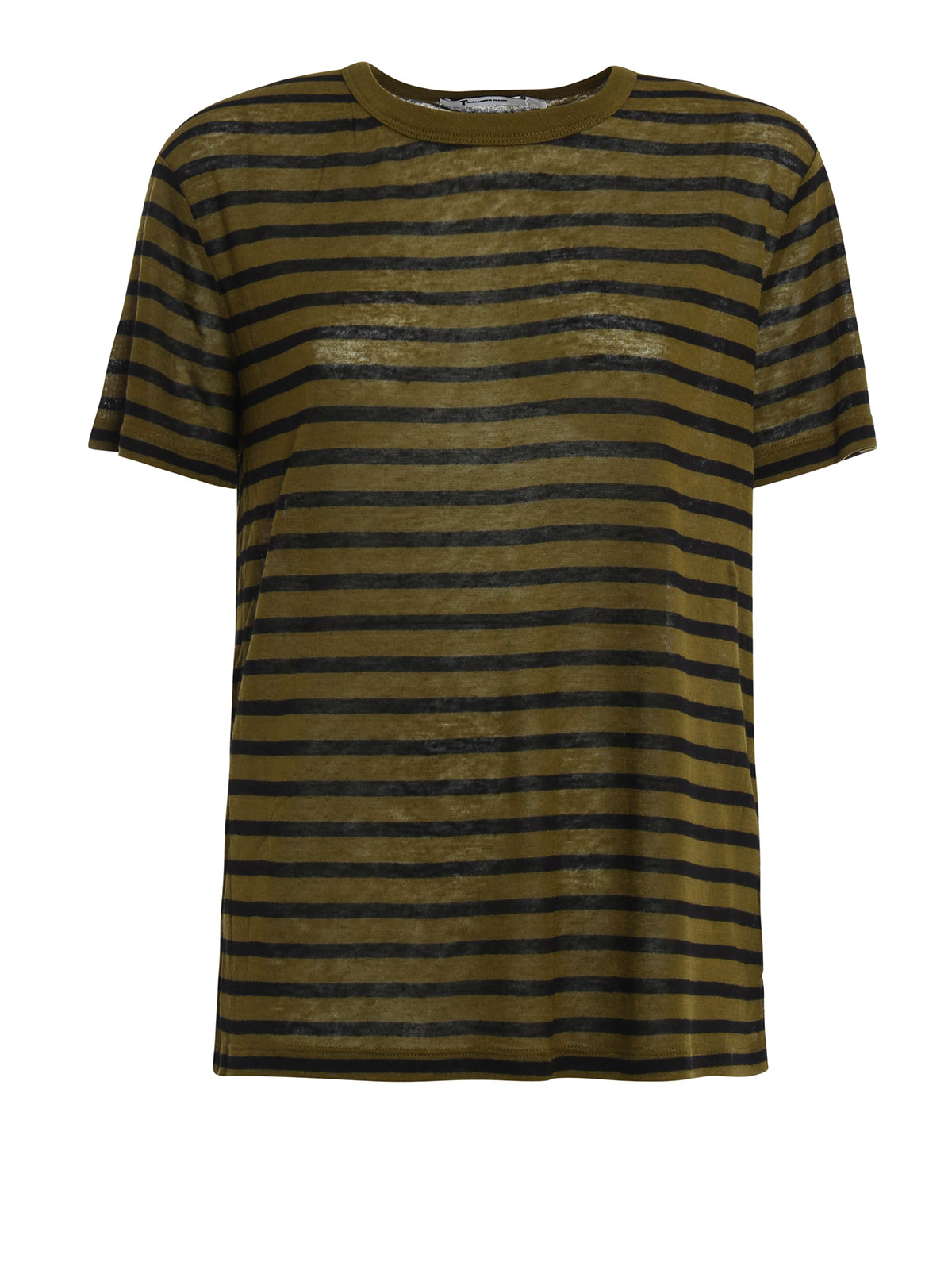 Striped lightweight tee by t by alexander wang t shirts for Alexander wang t shirts