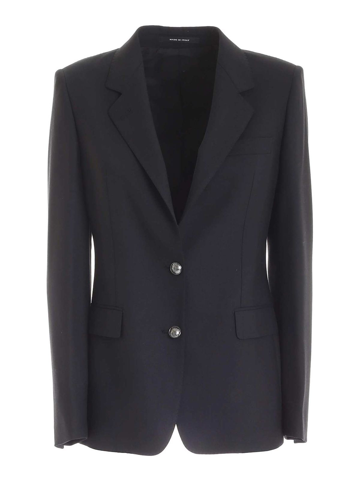 Tagliatore SINGLE-BREASTED JACKET IN BLACK