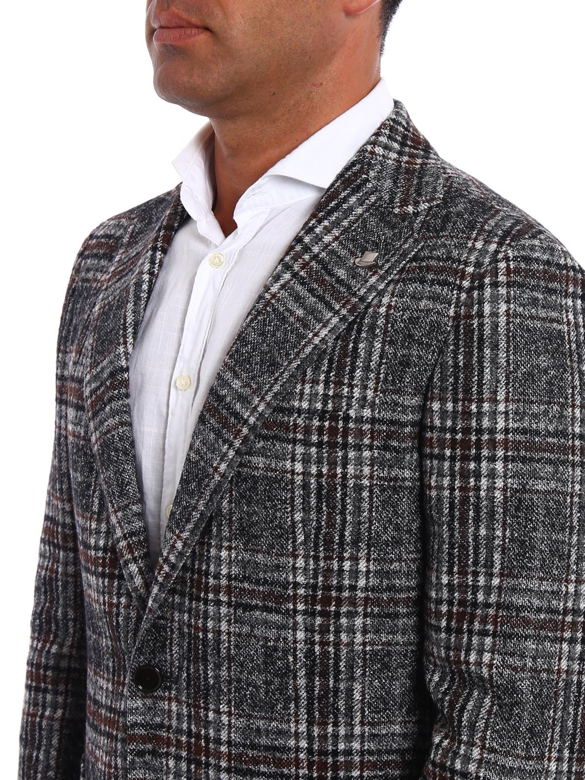 low priced 71220 ab337 Tagliatore - Giacca Galles in misto alpaca - giacche blazer ...