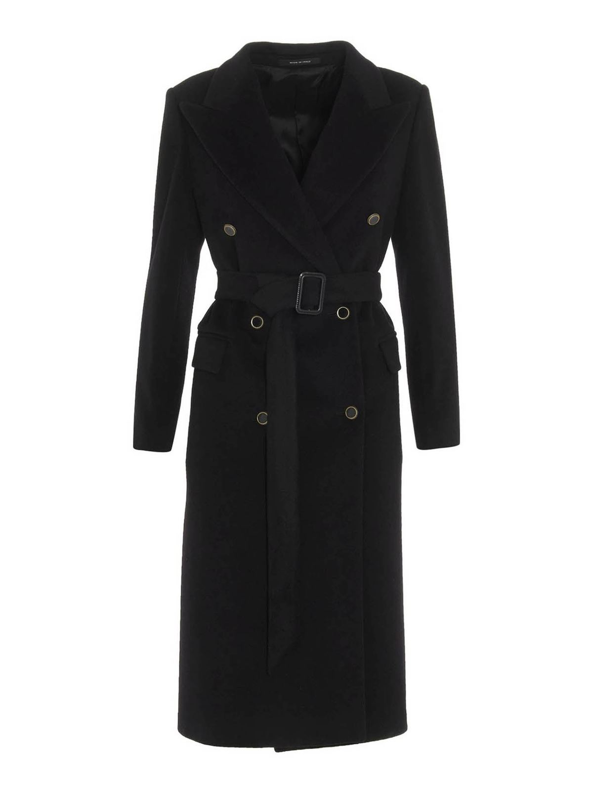 Tagliatore JOLE C COAT IN BLACK
