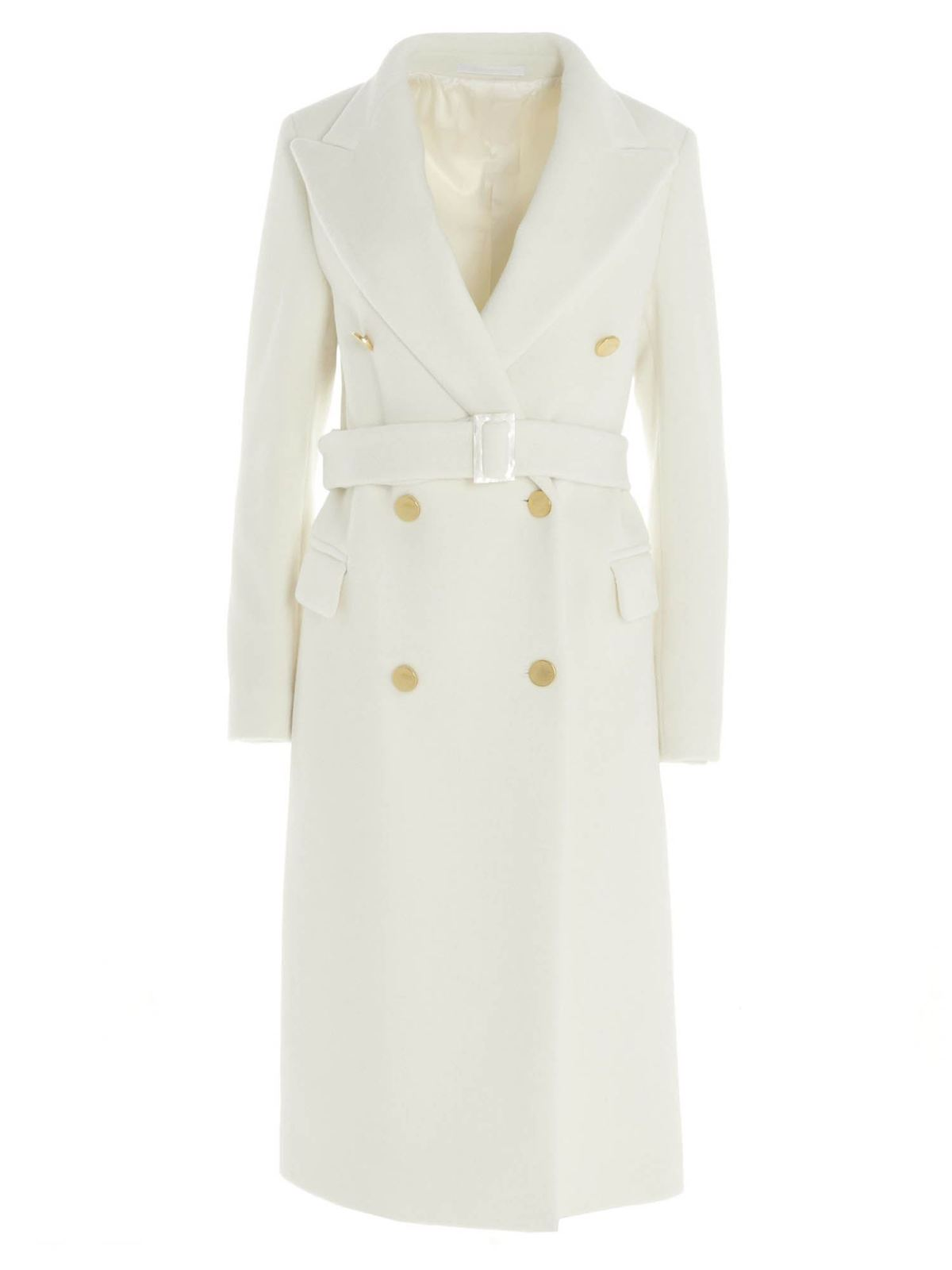 Tagliatore LONG COAT JOLE IN WHITE