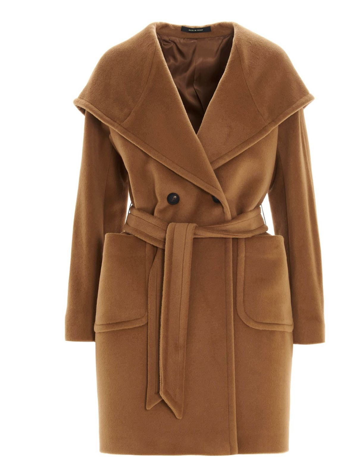 Tagliatore CHELSEY COAT IN BROWN
