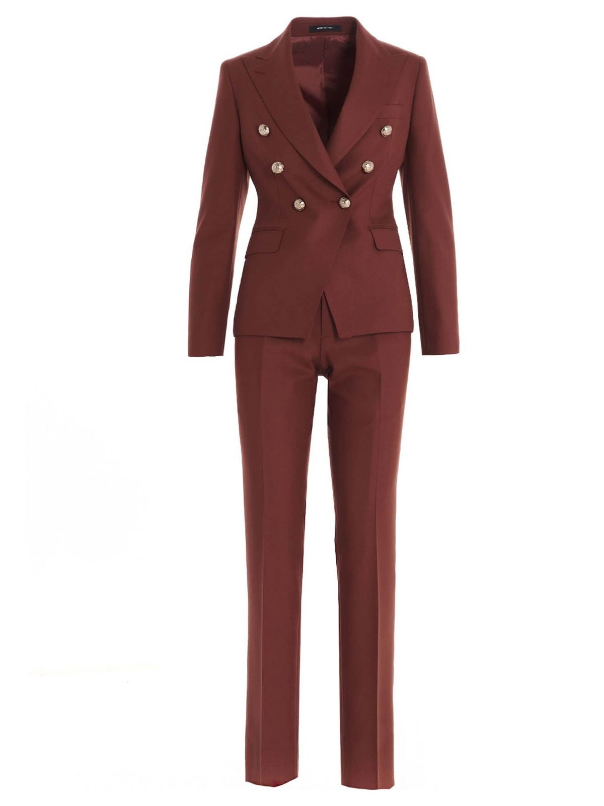 Tagliatore T ALYCIA SUIT IN BROWN