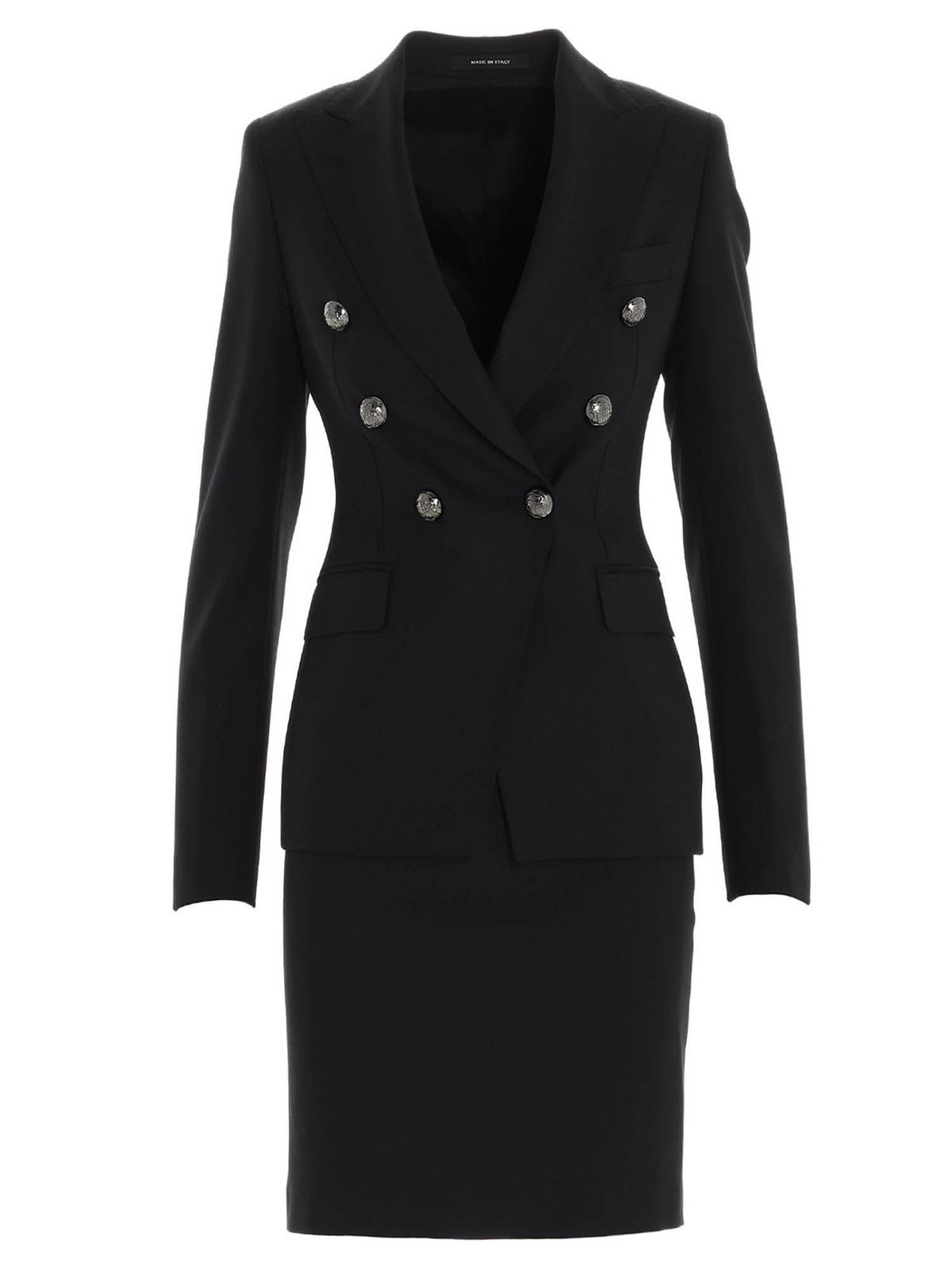 Tagliatore Z ALICYA SUIT IN BLACK