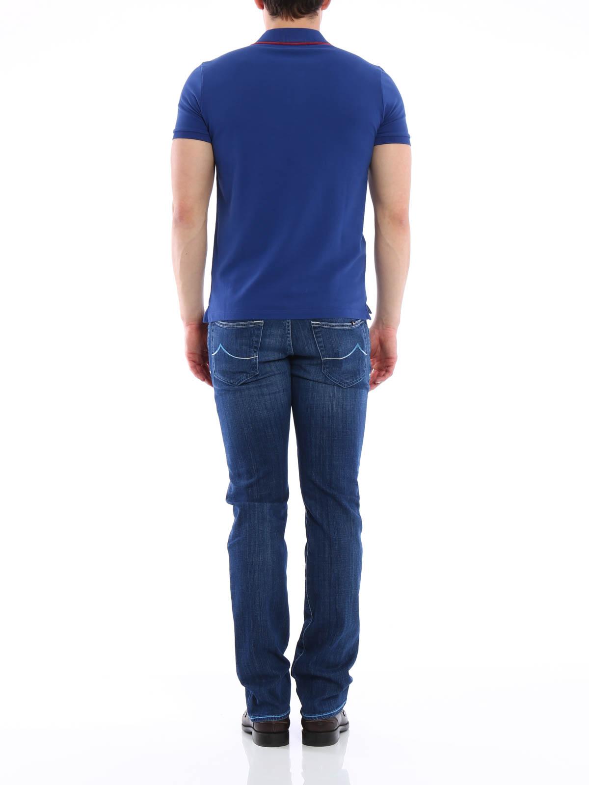 tailored j622 jeans by jacob cohen straight leg jeans. Black Bedroom Furniture Sets. Home Design Ideas