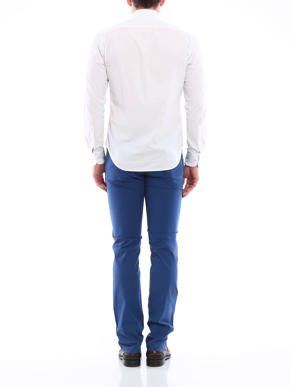 jeans sartoriali jacob cohen pantaloni casual ikrix. Black Bedroom Furniture Sets. Home Design Ideas