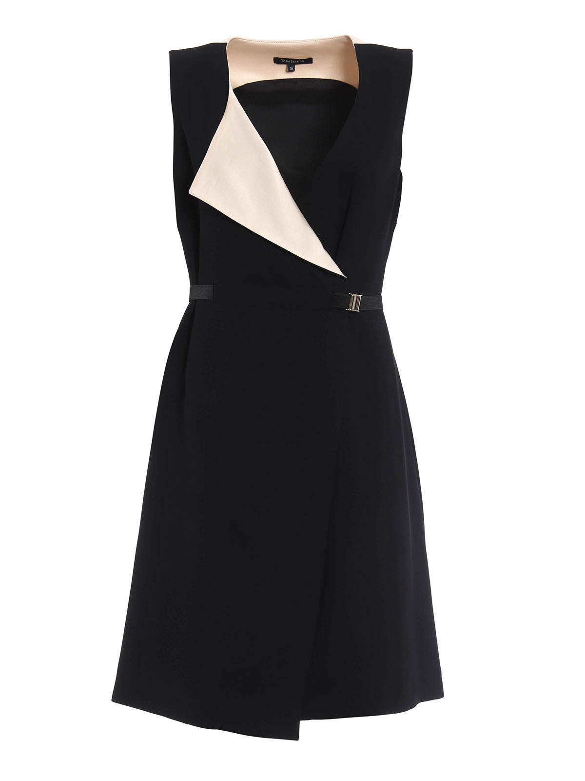belted wrap dress by tara jarmon cocktail dresses ikrix