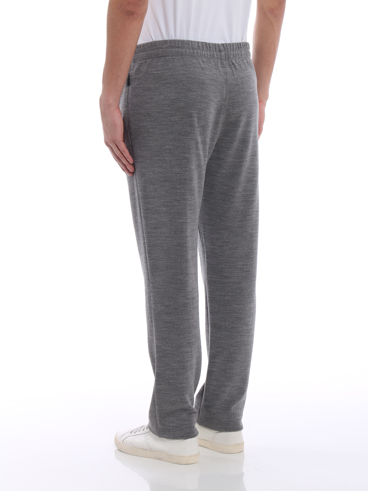 f10b72f4 Z Zegna - Techmerino® wool jogging pants - tracksuit bottoms ...