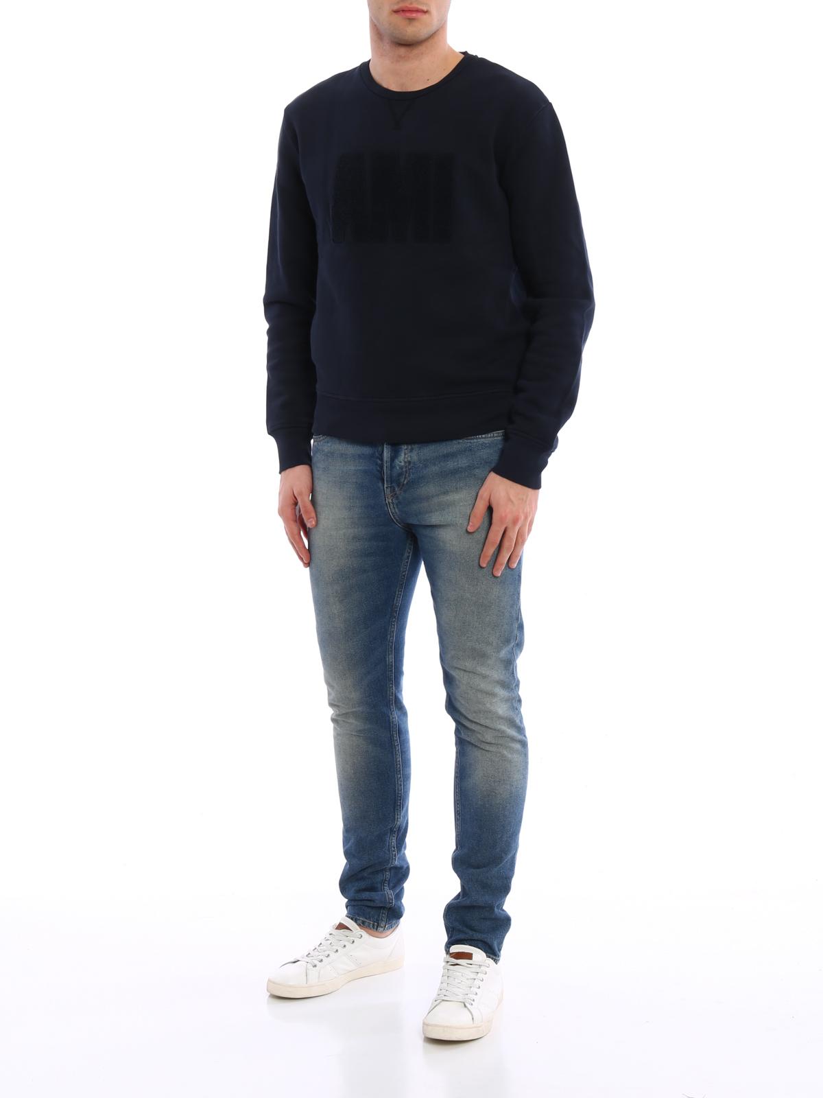 Online sweatshirt shopping