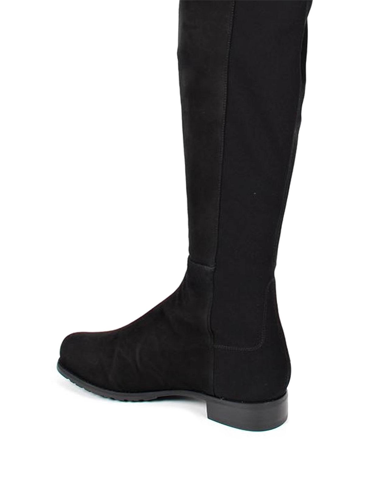 ba37982959e Stuart Weitzman - The 5050 suede boot - boots - 5050 SUEDE