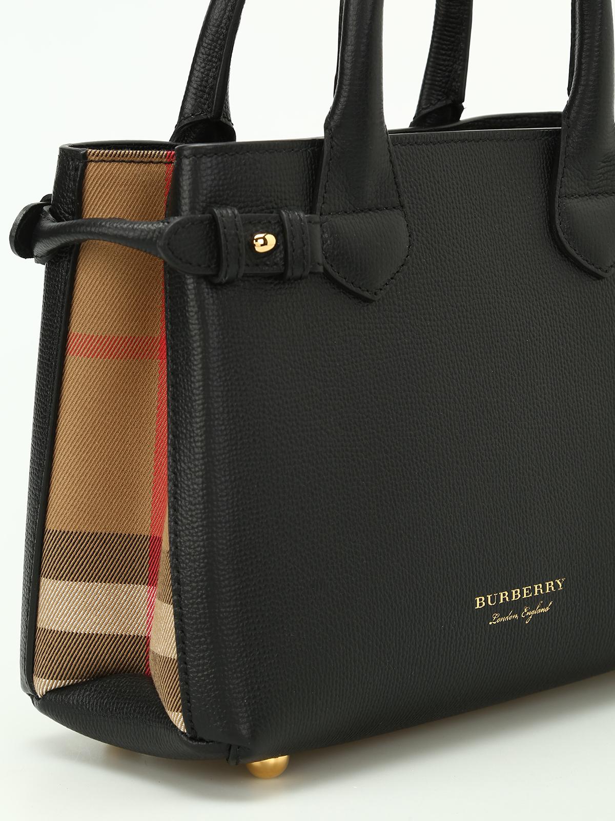 Burberry Handtasche The Banner Schwarz Handtaschen