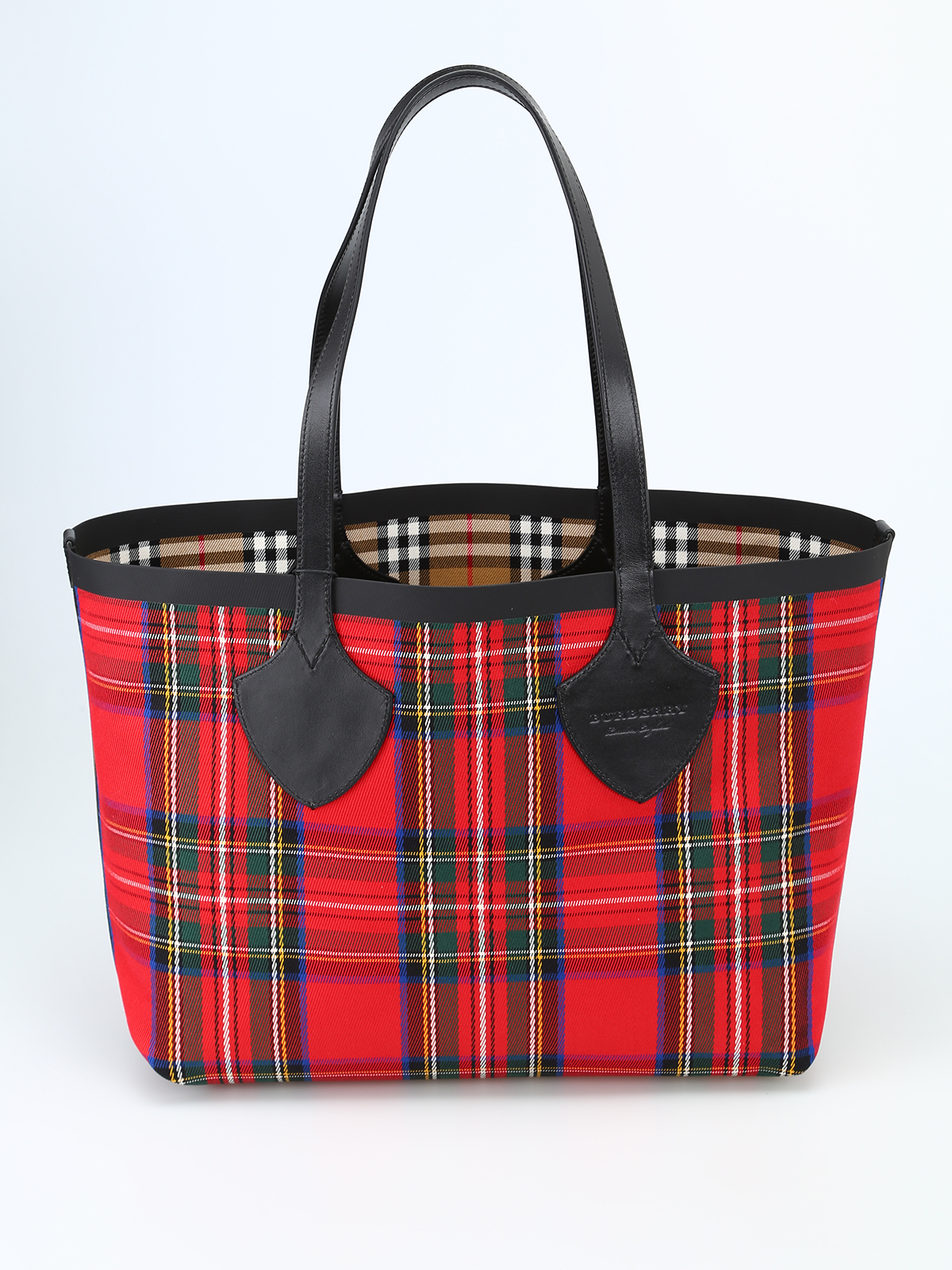 a4e73464a26f Burberry - The Medium Giant cotton reversible tote - totes bags ...