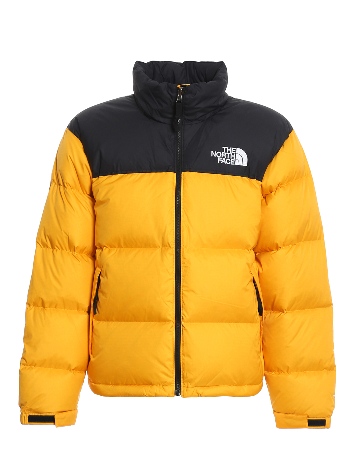 The North Face QUILTED FABRIC TWO-TONE PUFFER JACKET