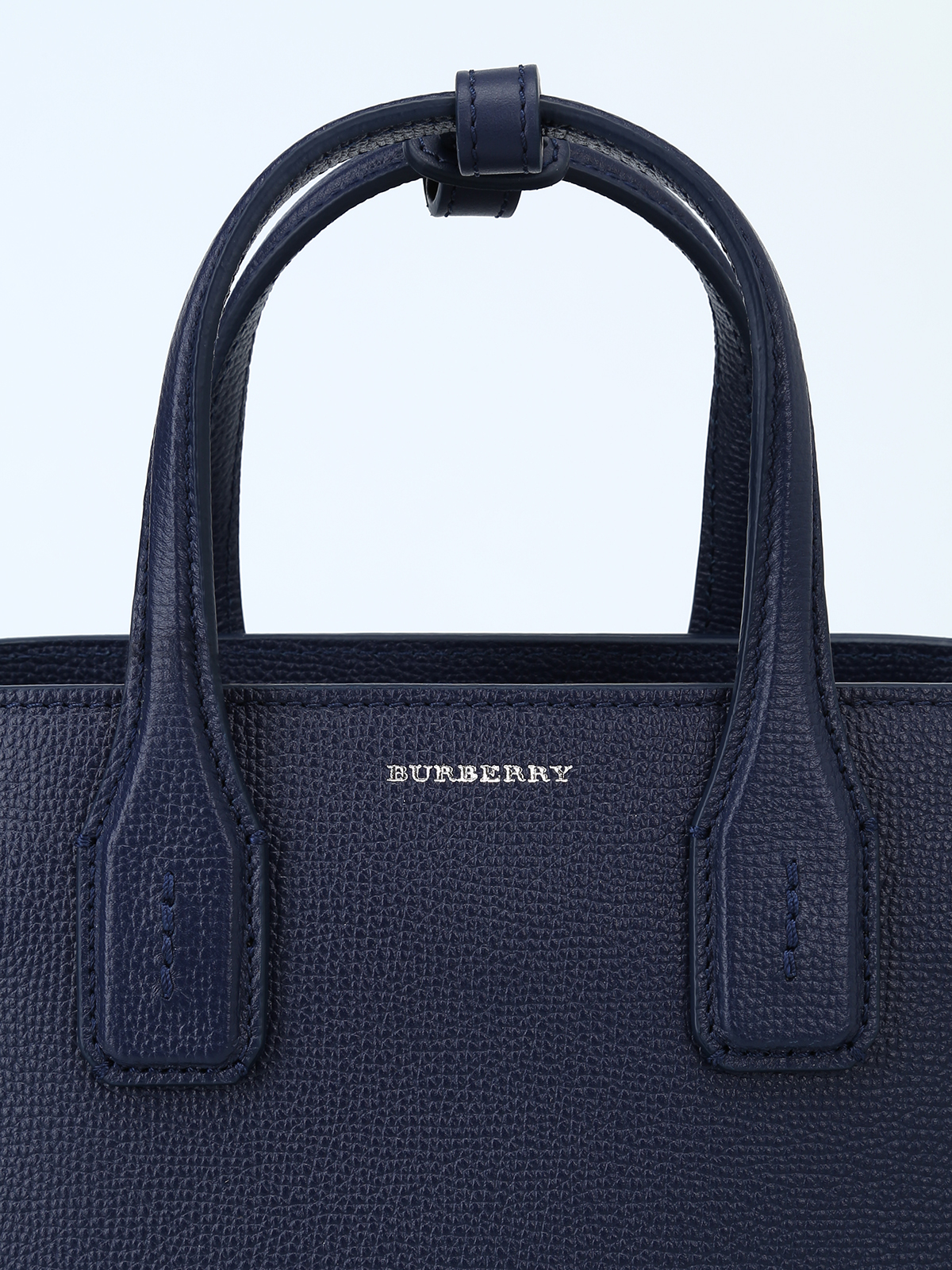 43b81fad0d80 Burberry - The Small Banner regency blue leather bag - cross body ...