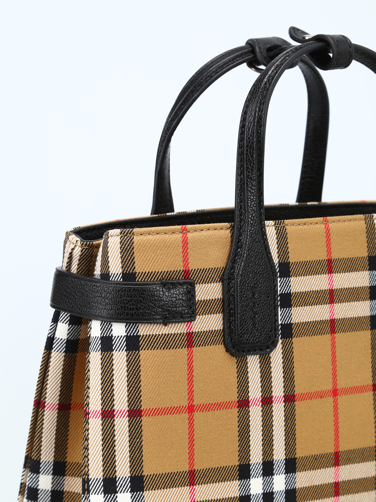 3a99b292a7fa Burberry - The Small Banner Vintage check bag - cross body bags ...