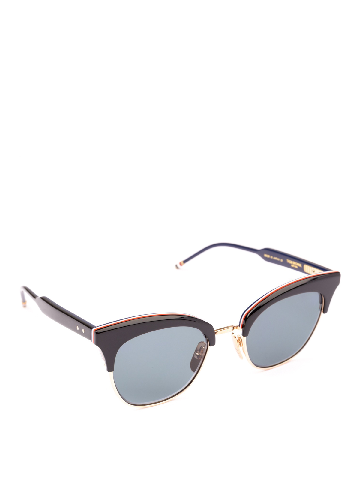 8c250d04c1d Thom Browne - 12K gold laminated lens rim sunglasses - sunglasses ...