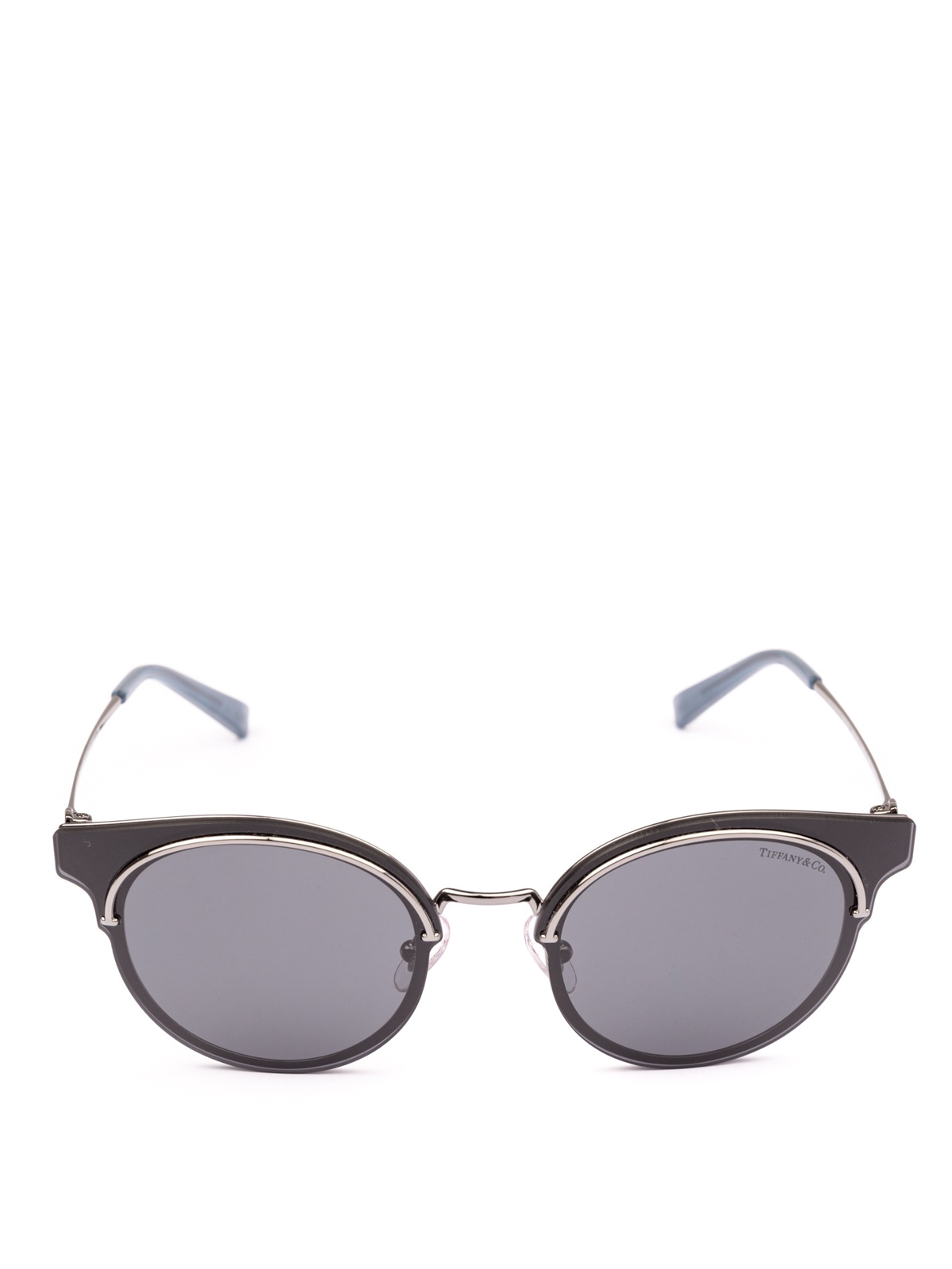 649bfdc8438 Tiffany   Co. - Grey lens round sunglasses - sunglasses - TF3061 6003 3