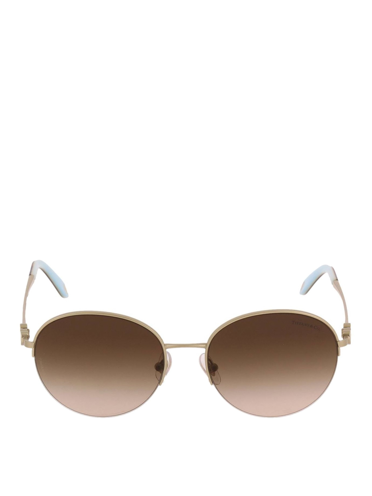 52219056d7df TIFFANY   CO.  sunglasses online - Pale gold metal oval sunglasses