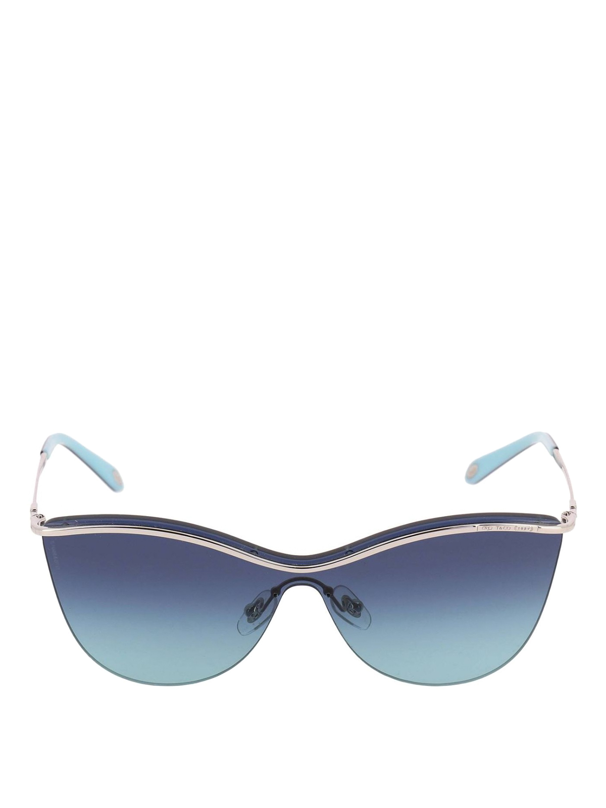 05589f4df409 TIFFANY   CO.  sunglasses online - Silver and blue butterfly sunglasses