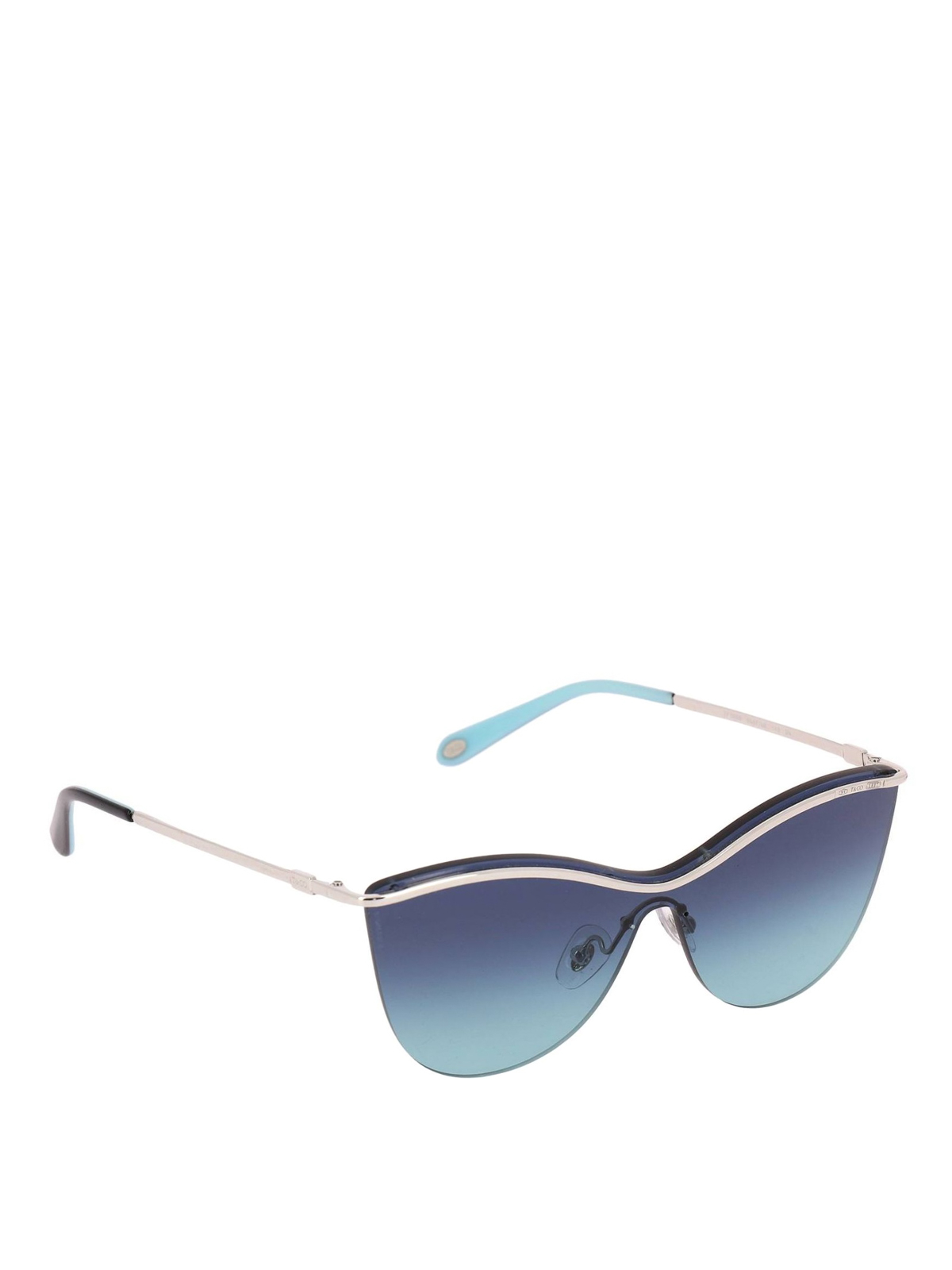 c6c3ab475987 Tiffany   Co. - Silver and blue butterfly sunglasses - sunglasses ...