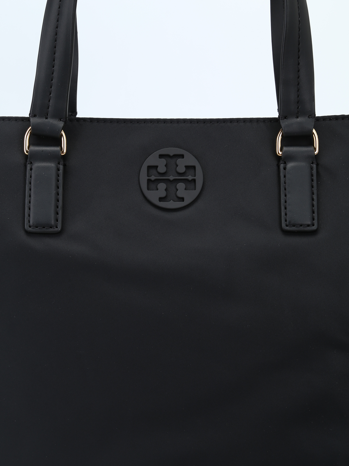683657226 Tory Burch - Tilda black nylon small tote - totes bags - 51328 001