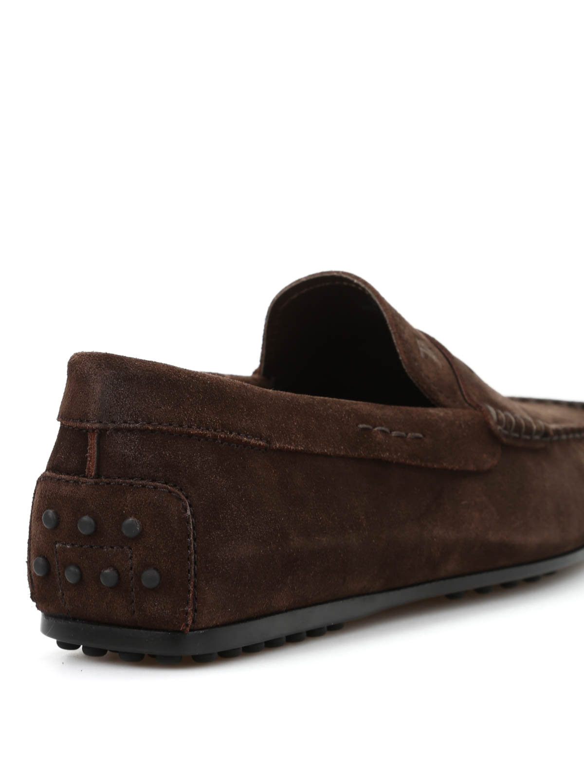 ee360aad4d1 Tod S - City Gommino suede loafers - Loafers   Slippers ...