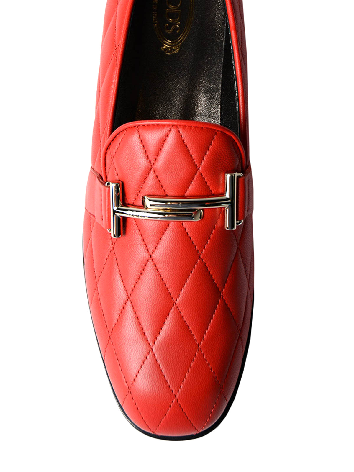 many styles the cheapest lowest price Tod'S - Double T quilted leather loafers - Loafers & Slippers ...