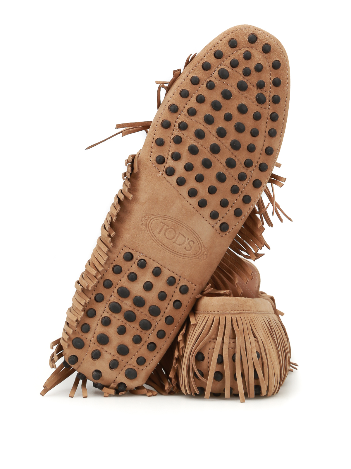 Multi Gommini Con Frange E Tod's Slippers Mocassini wU7vqOnZ