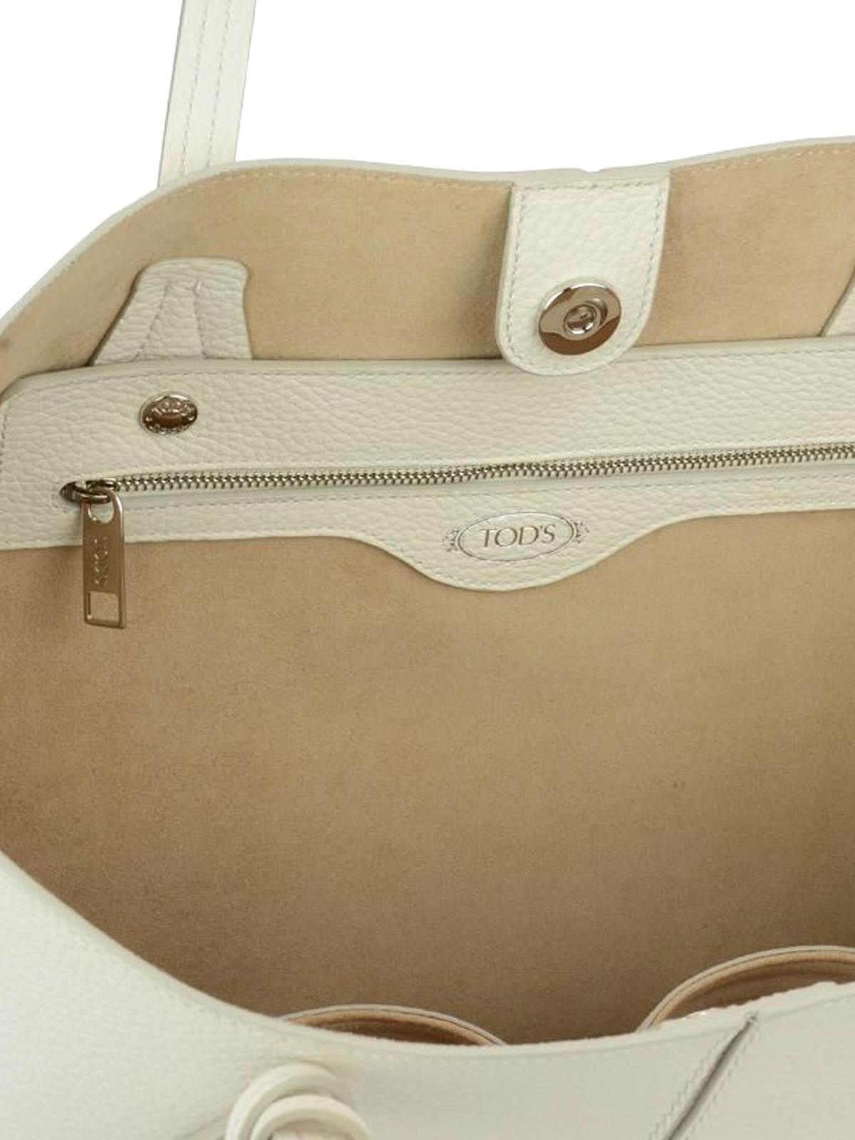 Tod's Joy white medium shopping bag w7SJxuE