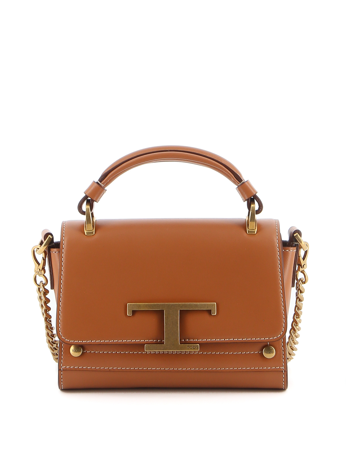 Tod's T BUCKLE MINI LEATHER BAG