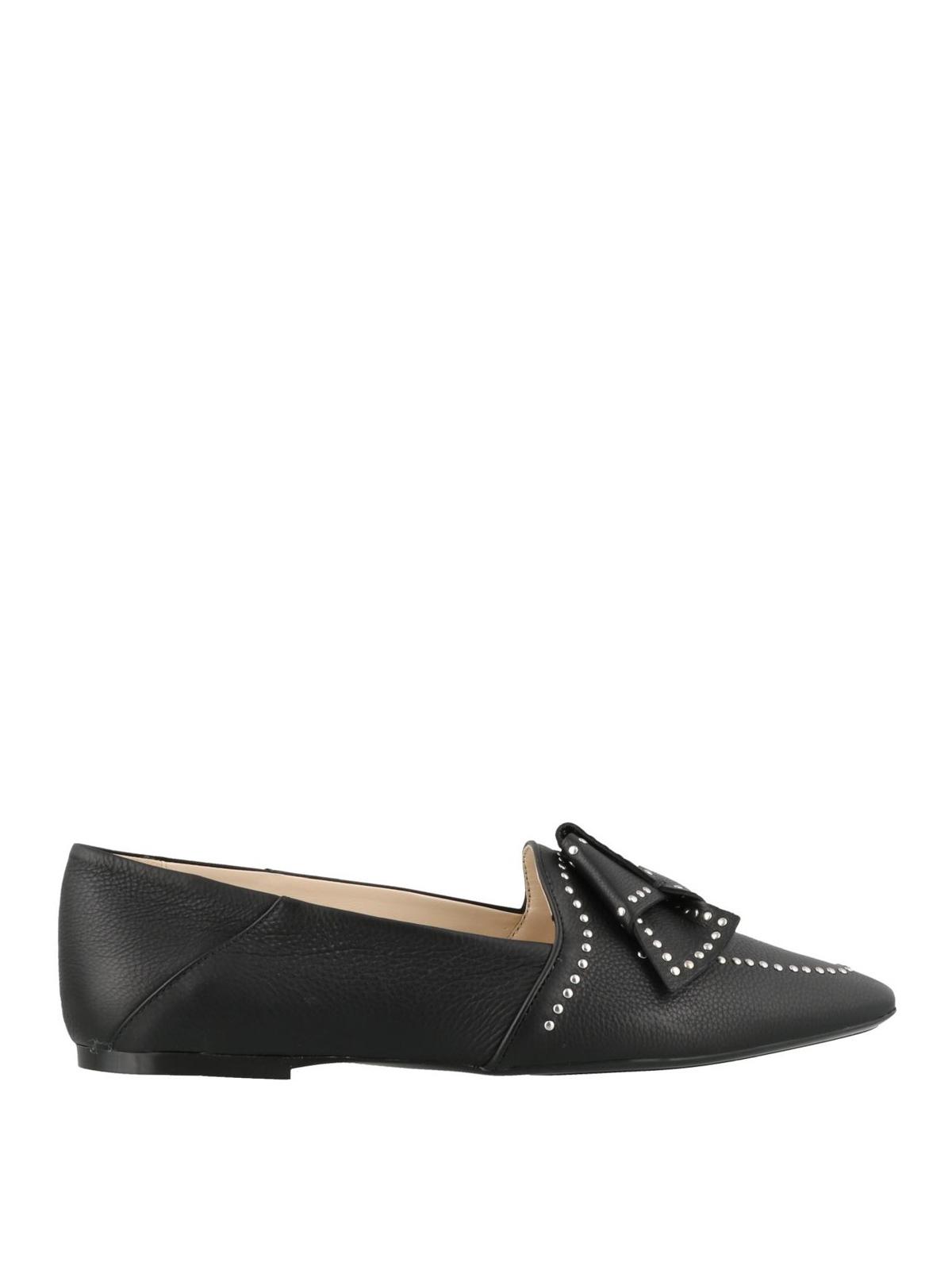 sports shoes 7e72d 804f2 Tod'S - Ballerina in pelle con borchie - ballerine ...