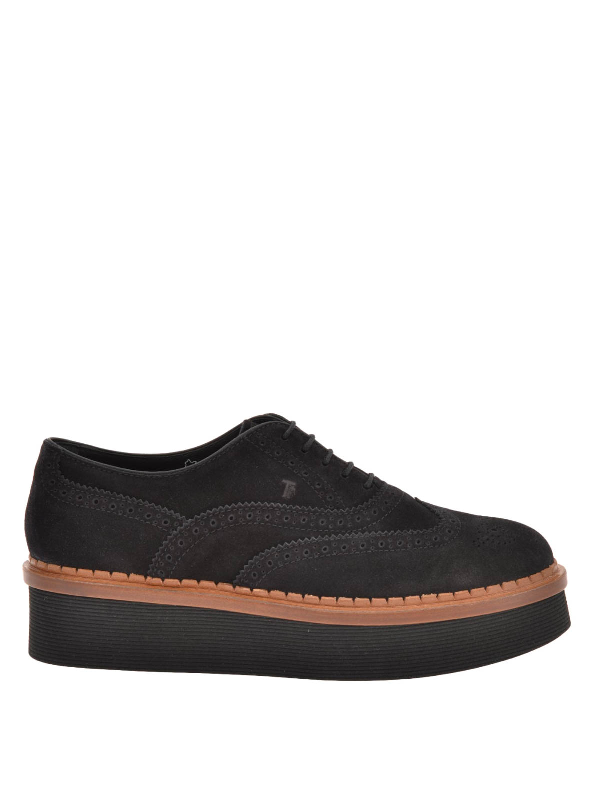 suede wedge oxford brogue by tod s lace ups shoes ikrix