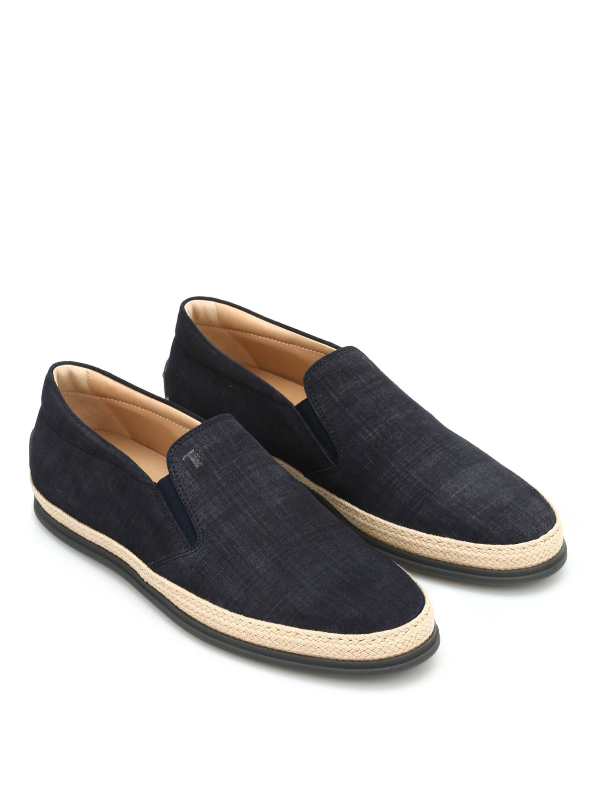 canvas slippers by tod s loafers slippers ikrix