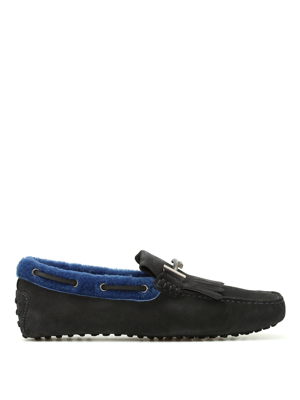 dc2fdf193df Tod S - Double T inner shearling loafers - Loafers   Slippers ...
