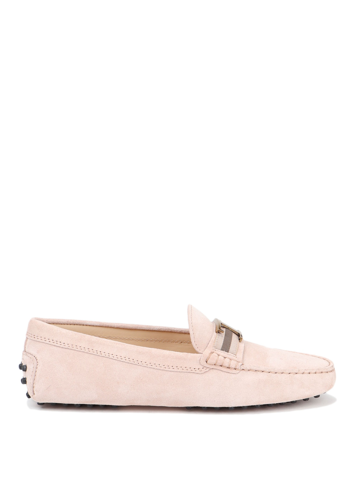 Gommino pink suede loafers - Loafers