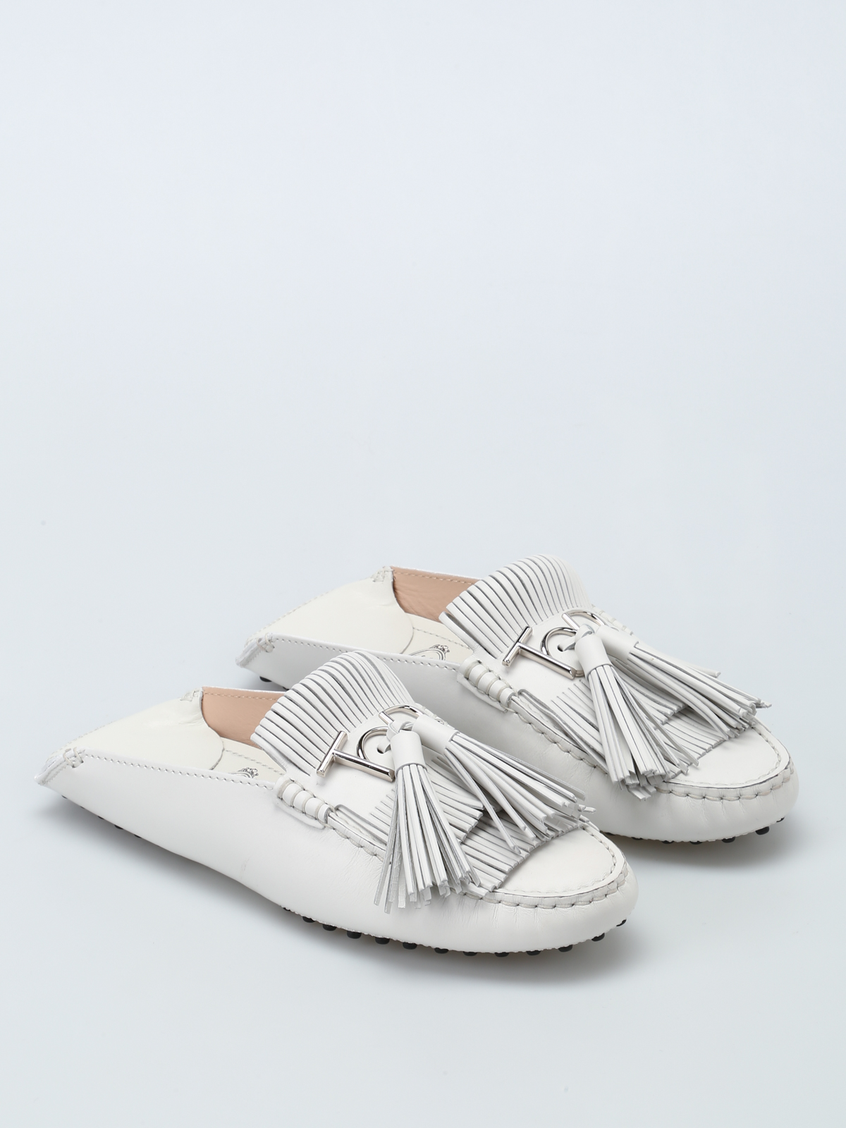 Tod's Gommino Slipper In Leather 100% Authentic For Sale R2293RRiCv