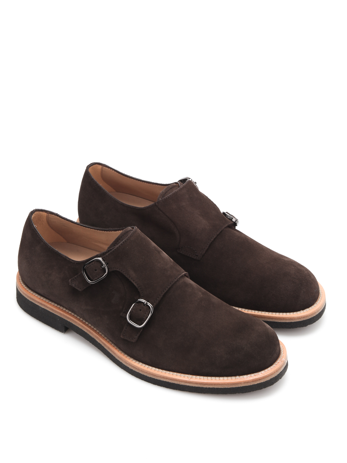 Monk Strap Shoes in Suede Tod's iRbvdQ