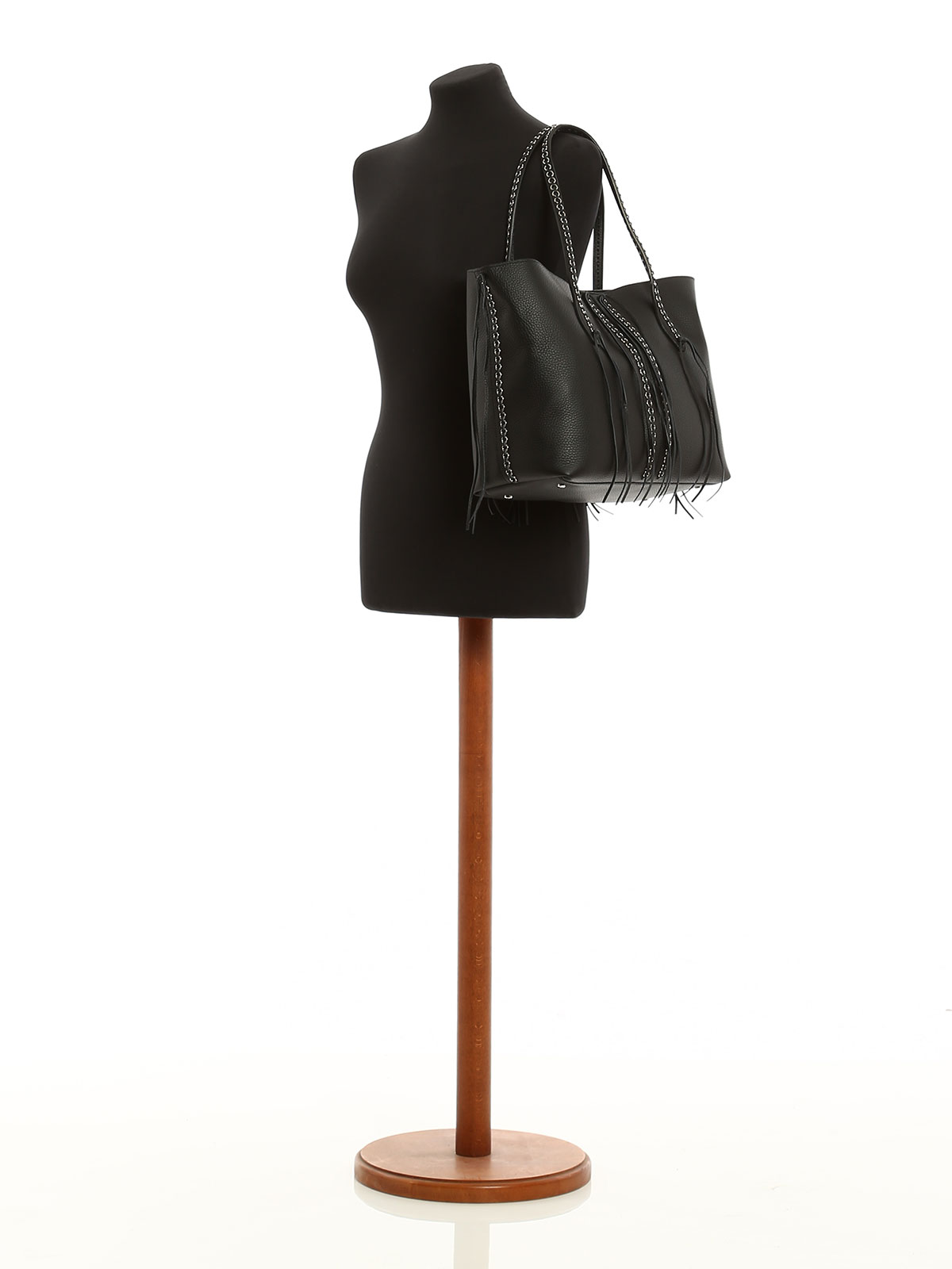 Tods Womens Xbwanjar300riab999 Black Leather Tote