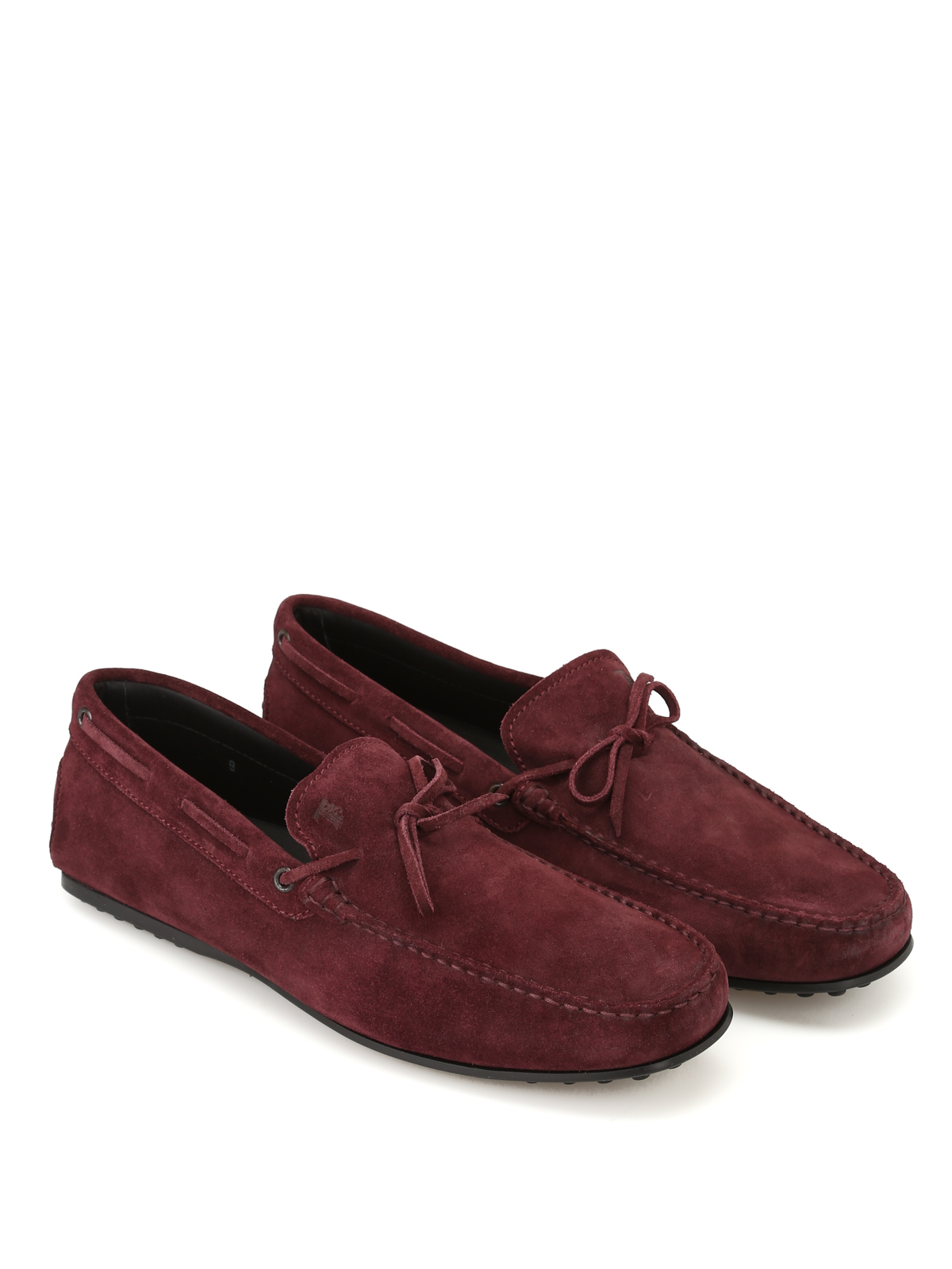 632b4006c2d City Gommino burgundy suede loafers shop online  TOD · TOD · TOD · TOD