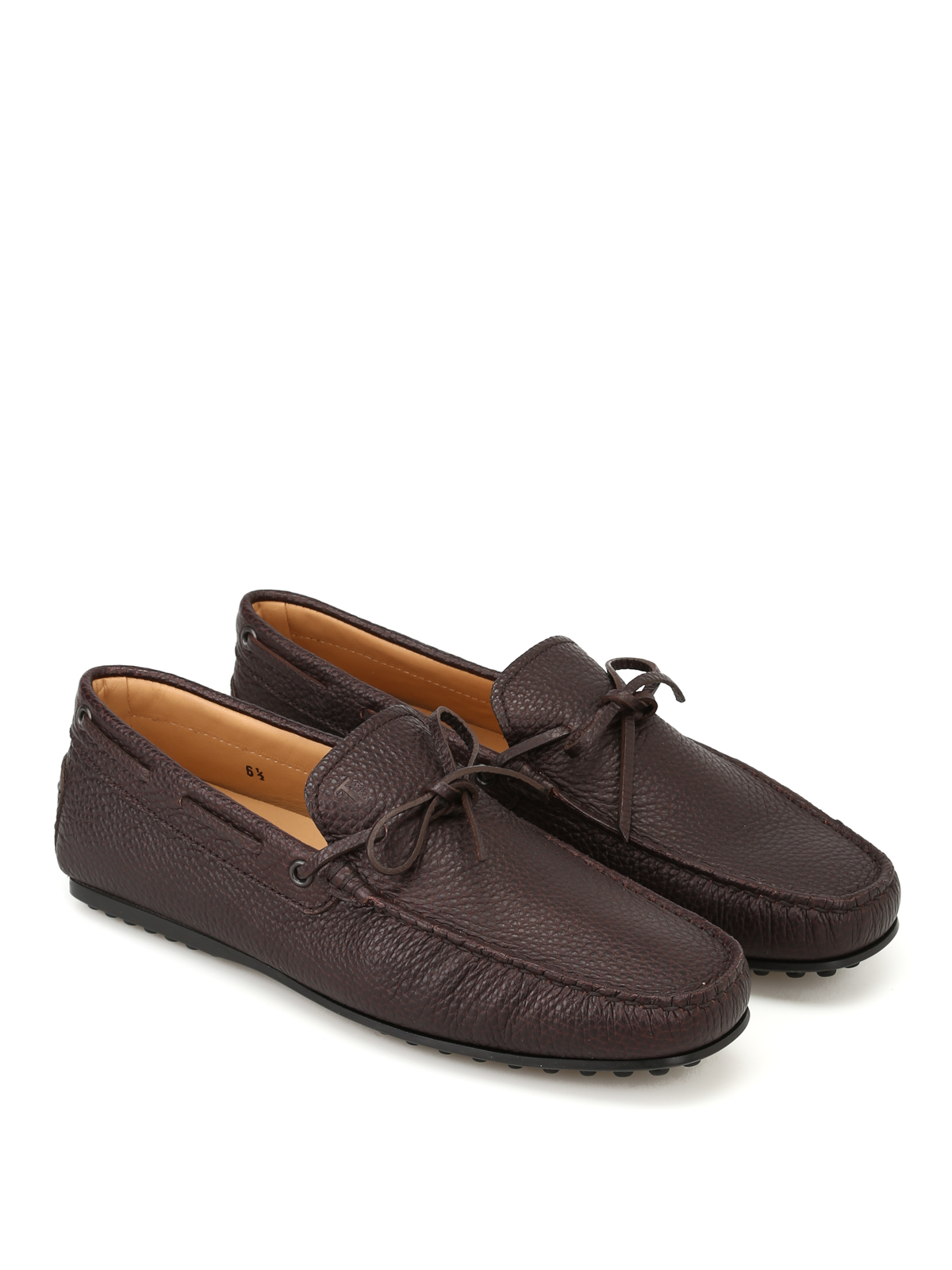 7f3cc0e2d1d Tod S - City Gommino coffee leather loafers - Loafers   Slippers ...