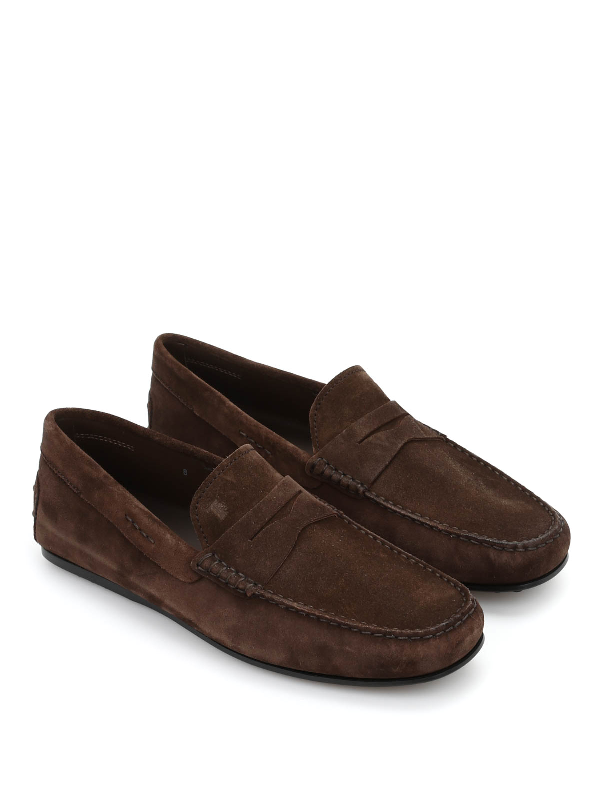 City Gommino suede loafers Tod's akBKnhdP