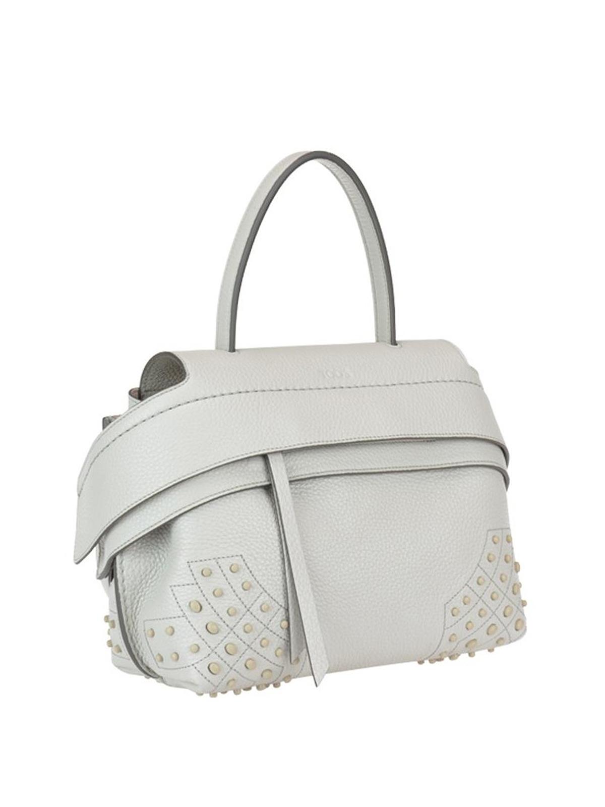 96aae533e6e Wave white leather mini shoulder bag shop online: TOD. TOD. TOD. TOD