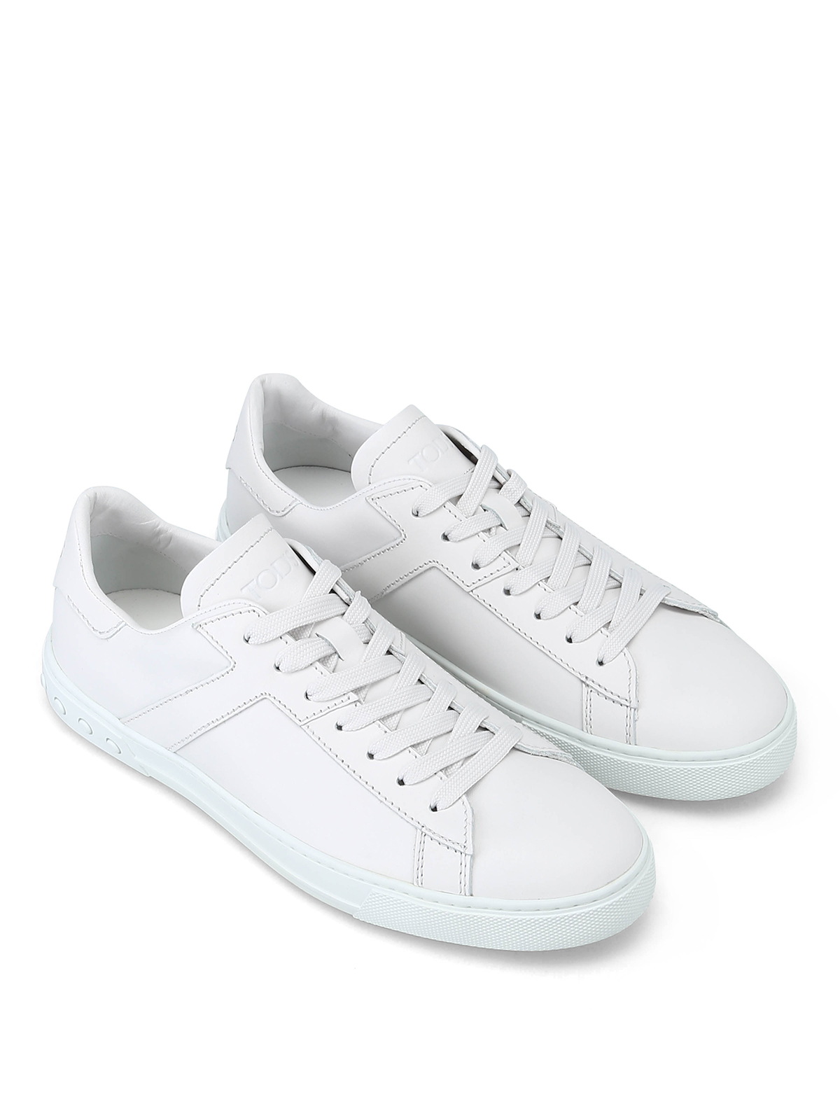 Tod'S - Side T white leather sneakers