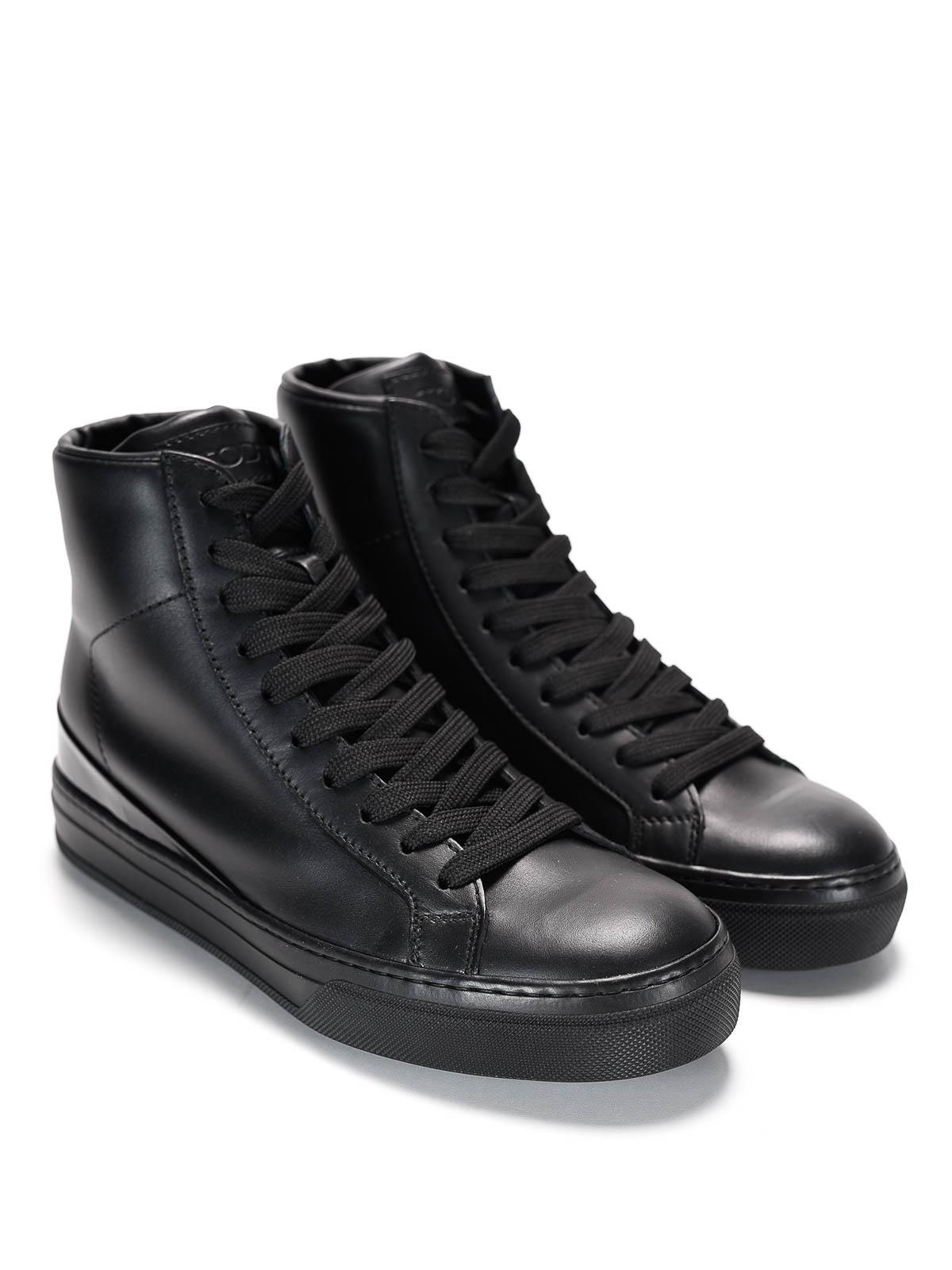 tod's high top sneaker