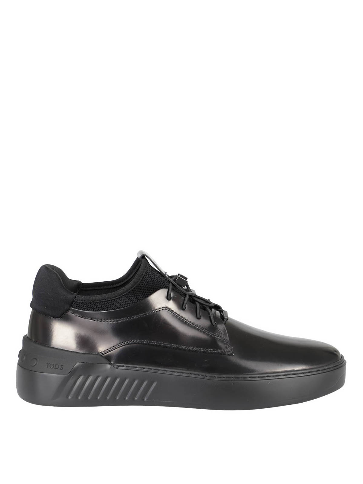 Tod's LEATHER AND MESH SNEAKERS