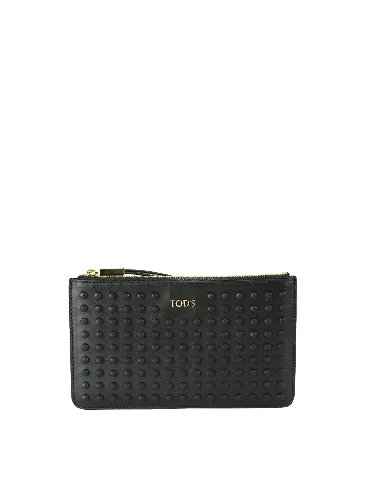 Tod's Zip leather pouch uGoRWhpH9