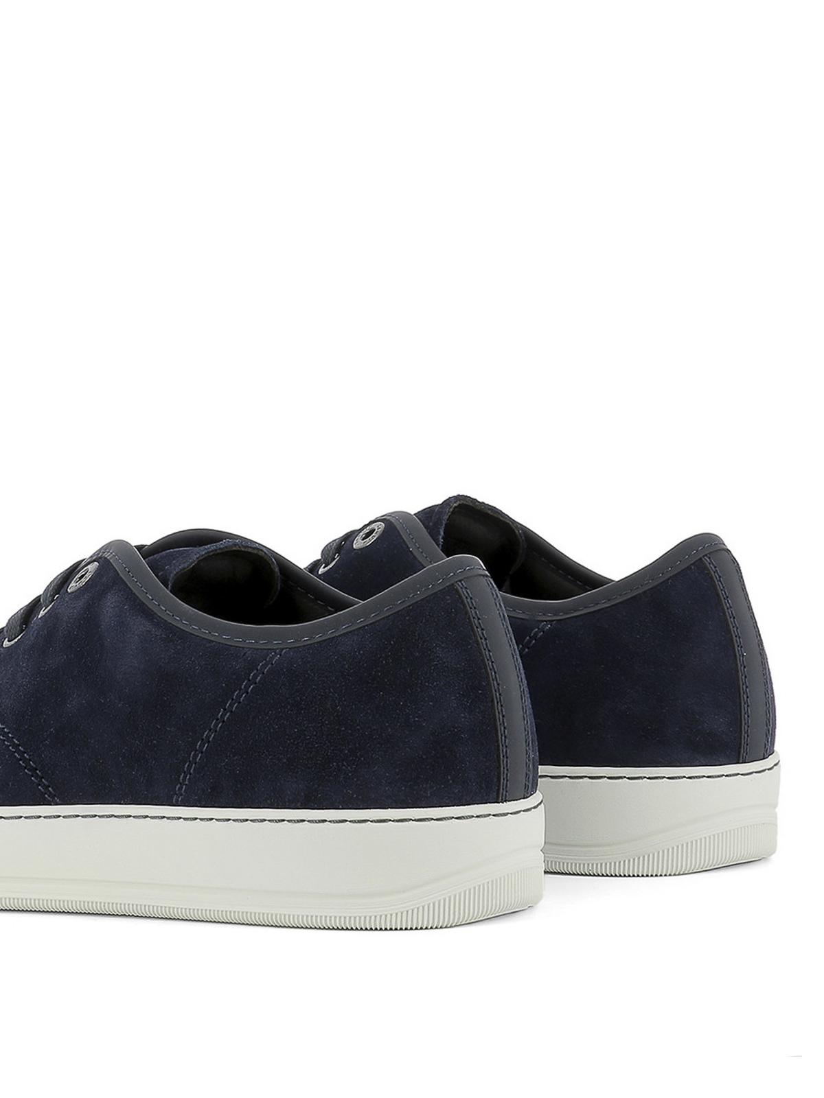 Lanvin - Toe cap suede sneakers - trainers - SKDBB1VEGOE17291 ... db418bf47bf