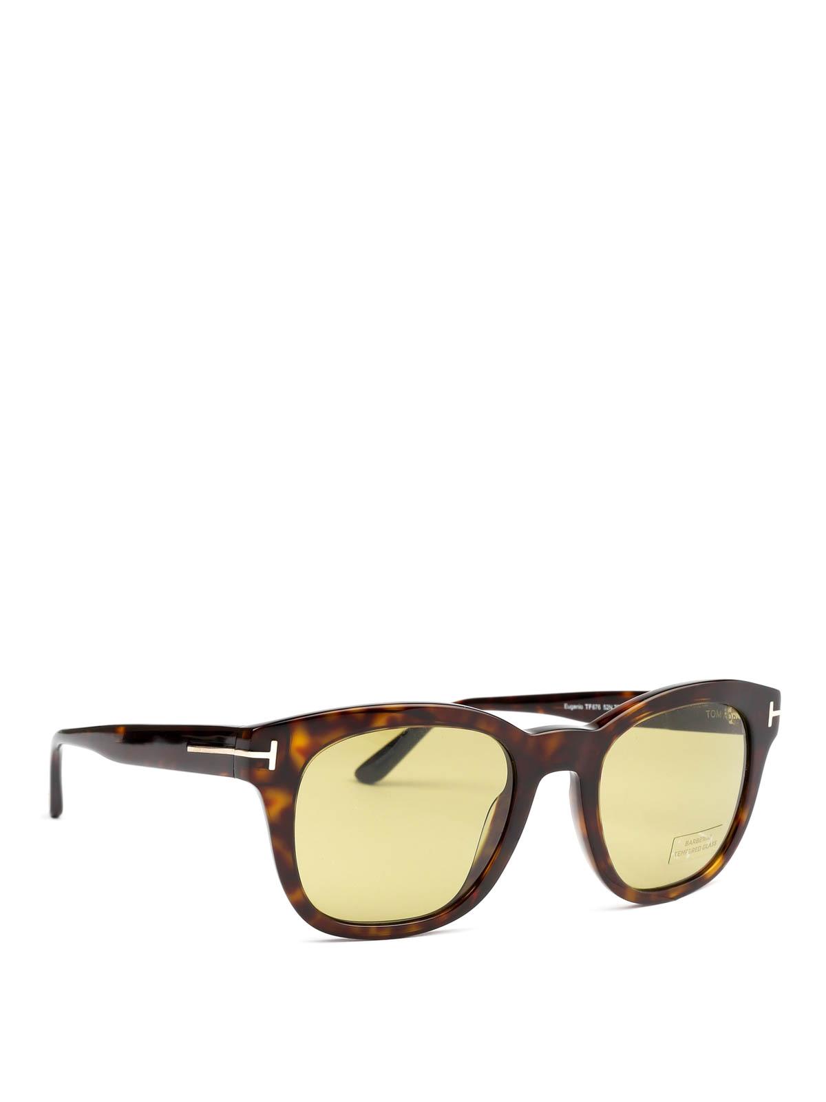 Tom Ford Eugenio Havana Sunglasses Sunglasses Ft067652n Ikrix Com